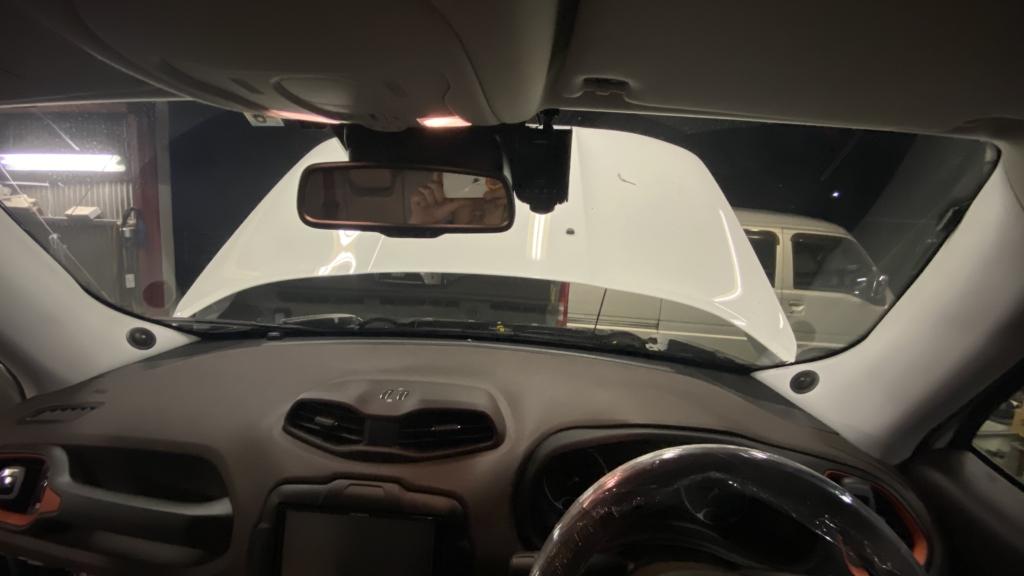 Jeepレネゲードスピーカー交換